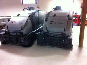 M2Clean - professionel erhvervsrengøring maskiner