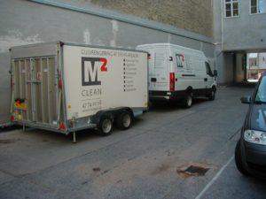 M2Clean - professionel erhvervsrengøring