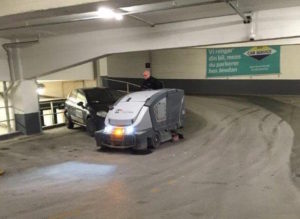 Rengøring af parkeringskælder M2Clean