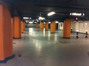 Rengøring af parkeringshuse med M2Clean