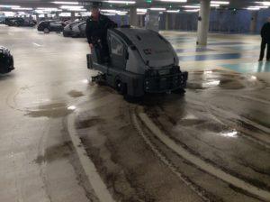 M2Clean erhvervsrengøring. Rengøring af parkeringshuse